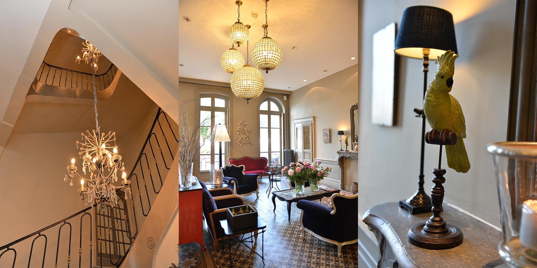 Hotel d'Europe et d'Angleterre à Mâcon, Bourgogne du Sud