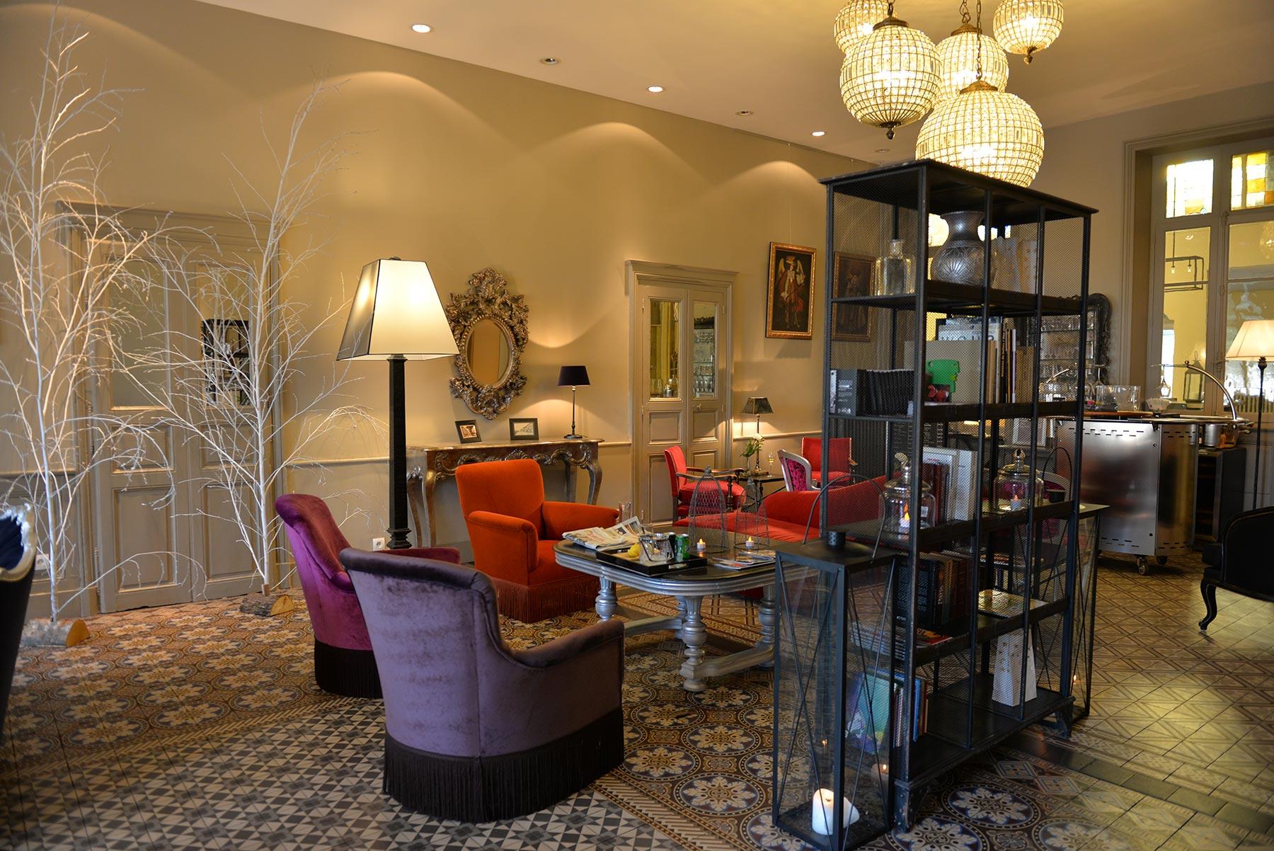 Hotel d'Europe et d'Angleterre à Mâcon, Bourgogne du Sud - Le Salon