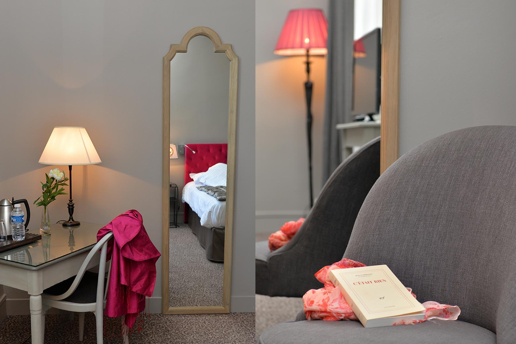 Hotel d'Europe et d'Angleterre à Mâcon, les chambres DELUXE