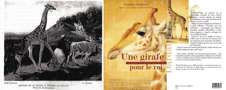 Histoire de la girafe en France