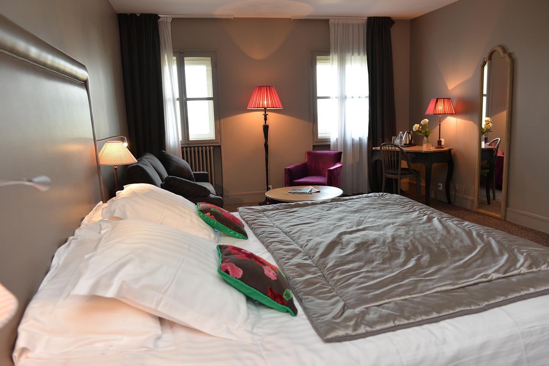Hotel d'Europe et d'Angleterre à Mâcon, les Junior Suites