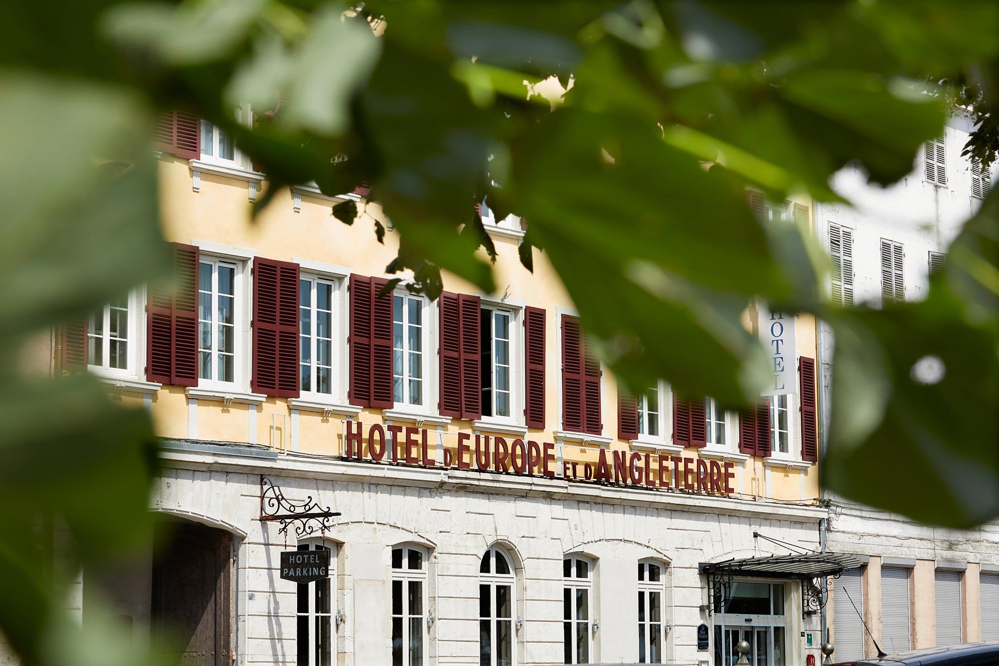 Découvrez l'Hotel d'Europe et d'Angleterre à Mâcon