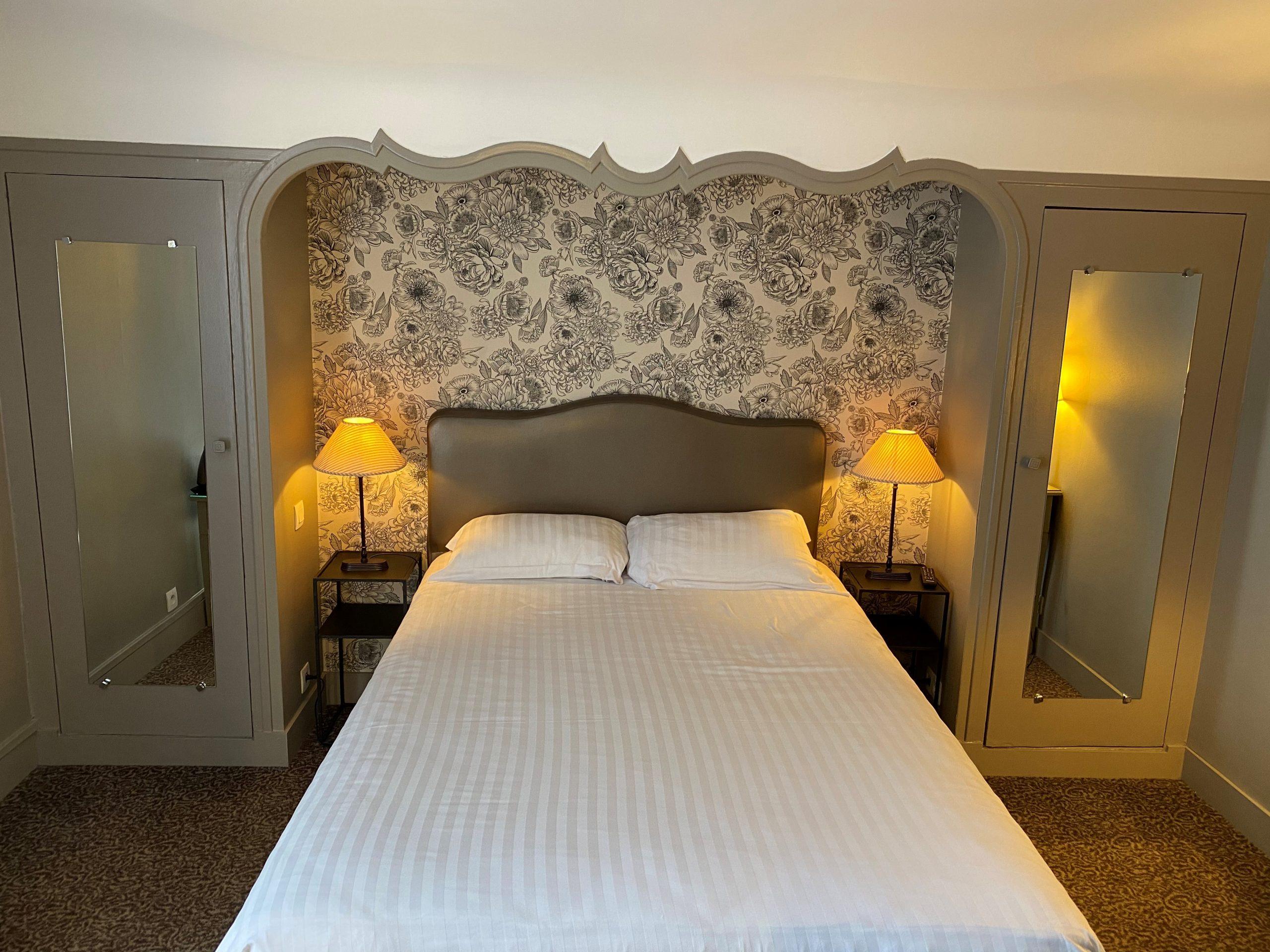 Hotel d'Europe et d'Angleterre Mâcon : chambre standard